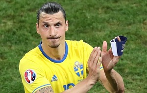 Sweden's Zlatan Ibrahimovic bows out with defeat by Belgium