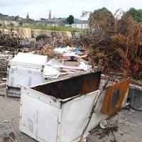 Asbestos found after illegal dumping on Belfast bonfire site