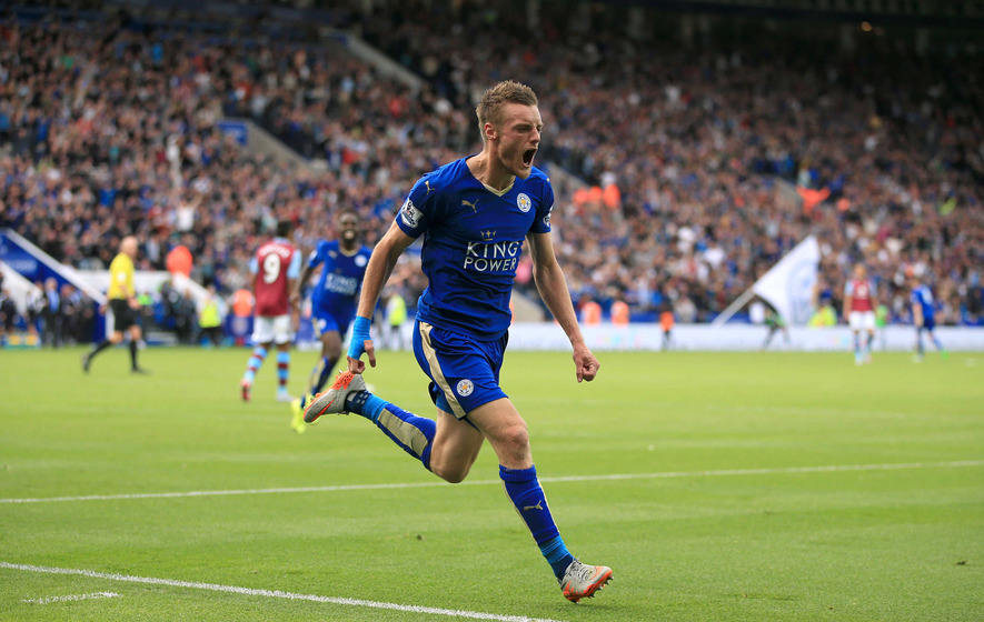 Jamie Vardy spurns Arsenal by agreeing four-year-deal with champions Leicester City