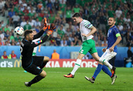 Republic of Ireland are the Champ-ions on the Euros menu