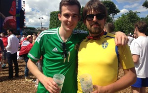 Northern Ireland fans in Paris don't let defeat at the hands of Wales get them down
