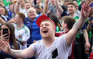Northern Ireland football team to be honoured at homecoming reception