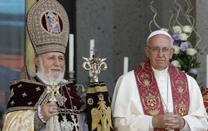 Pope's visit to Armenia's closed border with Turkey sparks fury