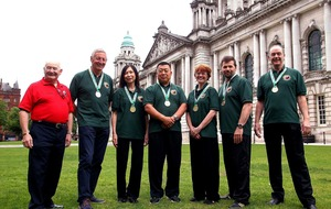 Irish Wushu team scoop 16 medals from Shenyang Open Tournament in northern China