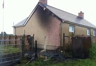 Orange hall damaged in overnight arson attack