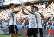 Germany ease into quarter finals with win over Slovakia