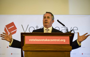 Liam Fox 'thinking about' bid to replace David Cameron in Tory leadership race