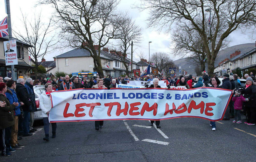 Belfast Orange lodge to oppose Ardoyne shops parade deal