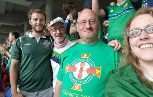 Northern Ireland fan 'very lucky to be alive' after three-storey fall in France
