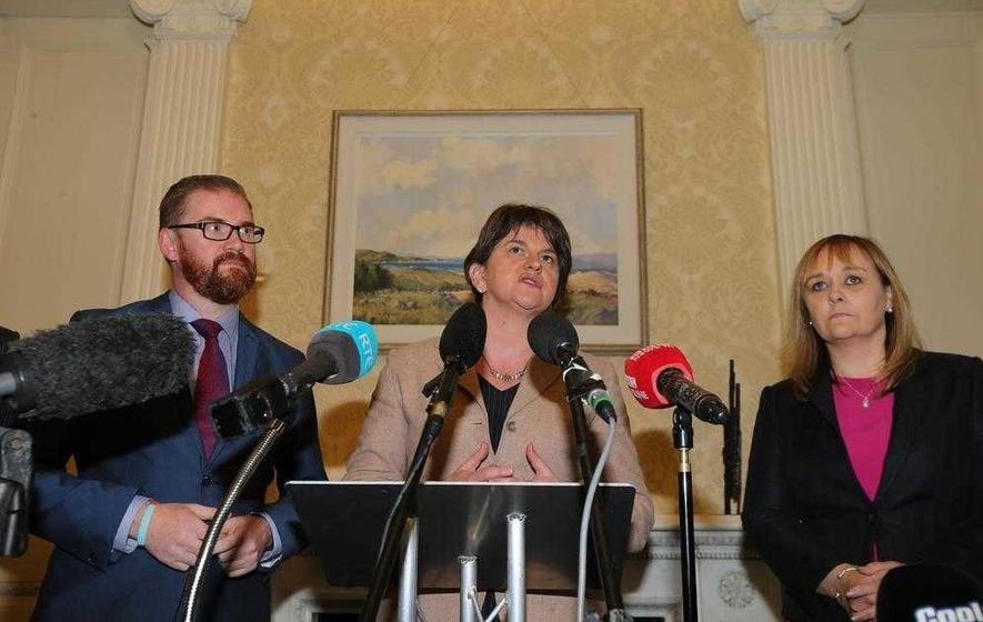 MLAs quiz Arlene Foster over concerns for north after Brexit