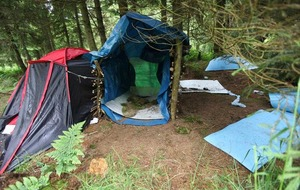 Environmental campaigners urged to clean up protest camp