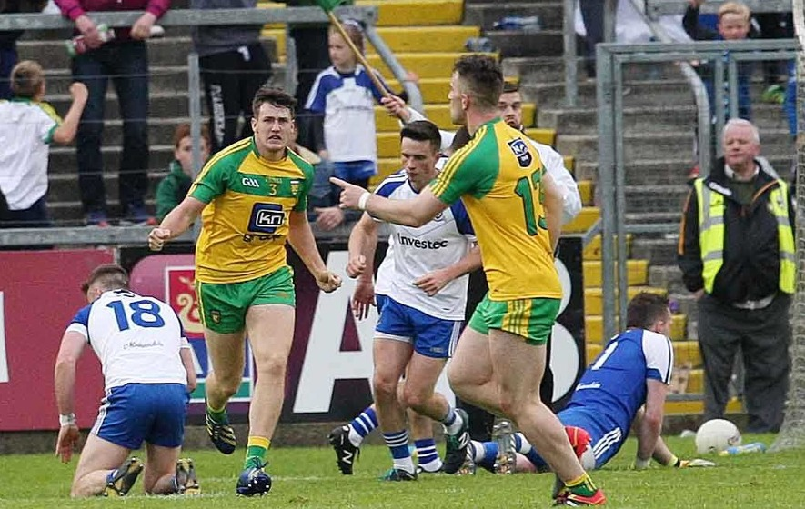 Kieran Gillespie makes positive impact with Donegal