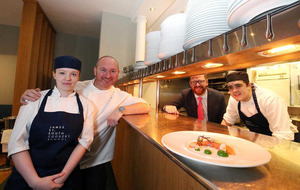 Twelve budding cookery students to gain apprenticeship with chef Niall McKenna