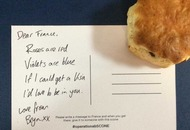 Londoners are handing out scones to French people to say sorry for Brexit