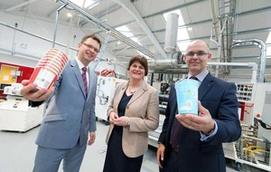 Dungannon based Greiner Packaging unveils £2.5m factory upgrade