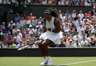 Clinical Serena Williams walks into Wimbledon second-round