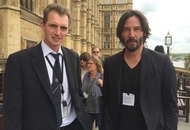 Keanu Reeves makes surprise visit to UK Parliament