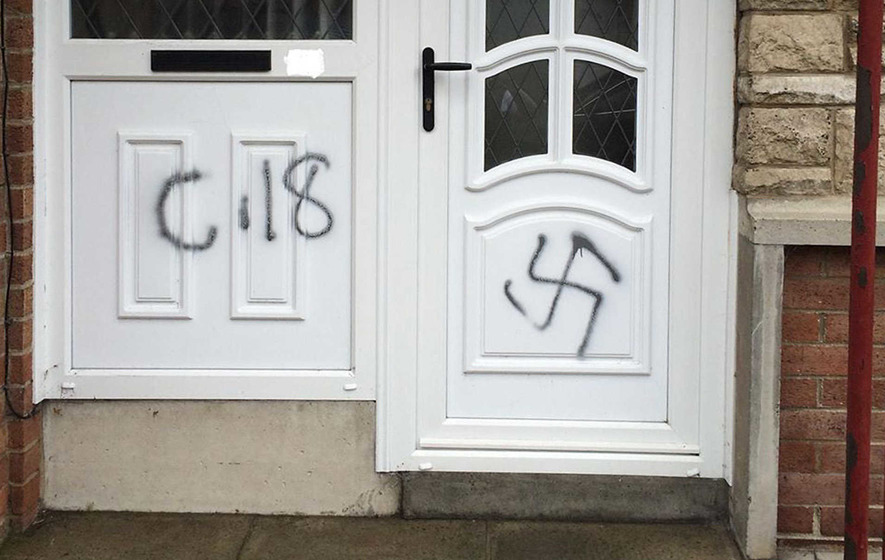 Up to eight hate incidents reported to PSNI daily