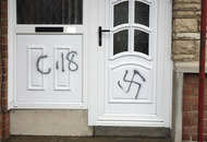 NEW:    Racist graffiti daubed on house in Co Armagh
