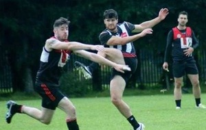 Marty Clarke makes Irish AFL debut for Galway Magpies