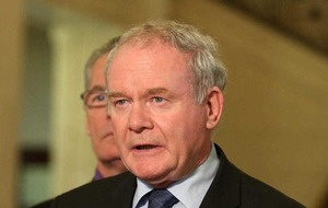 Martin McGuinness: It is up to us leaders to stand up for needs of people on island of Ireland