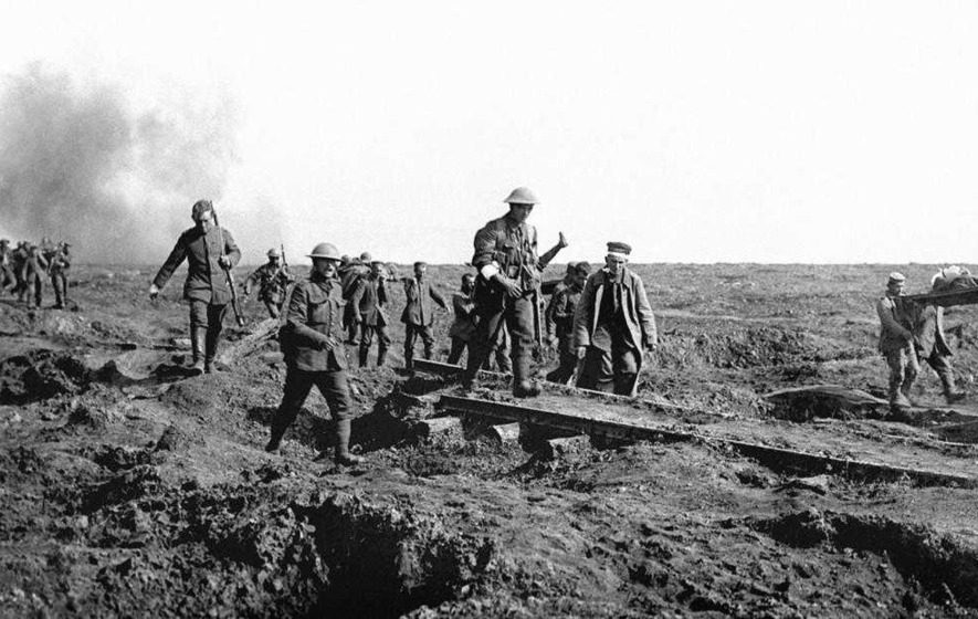 The Somme - 20,000 men walked slowly to their death on the first day