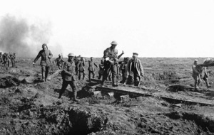 First World War timeline of events
