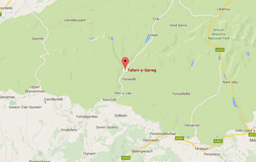 Search launched for missing children in Brecon Beacons