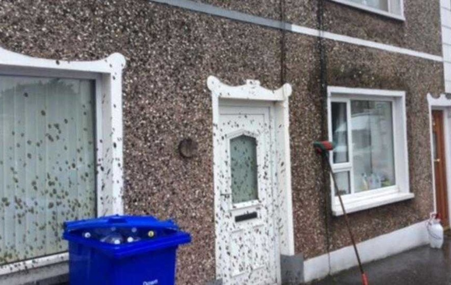NI Water apologises after homes sprayed with sludge