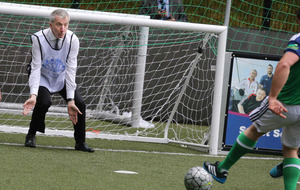 Northern Ireland Homeless World Cup team take on MLAs at Stormont