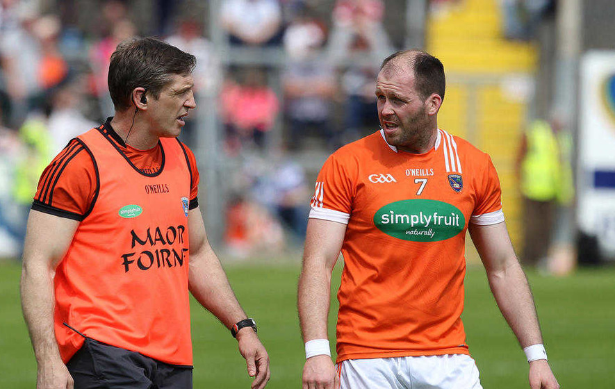 Ciaran McKeever to mull over Armagh future after latest injury