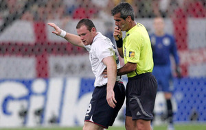 On this day - July 1 2006: Wayne Rooney sees red as England crash out of World Cup to Portugal