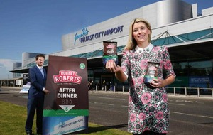 Robert Roberts coffee company takes off with Belfast City Airport