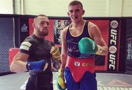 UFC star Conor McGregor calls boxer Conor Wallace into camp