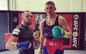 UFC star Conor McGregor calls boxer Conor Wallace into camp