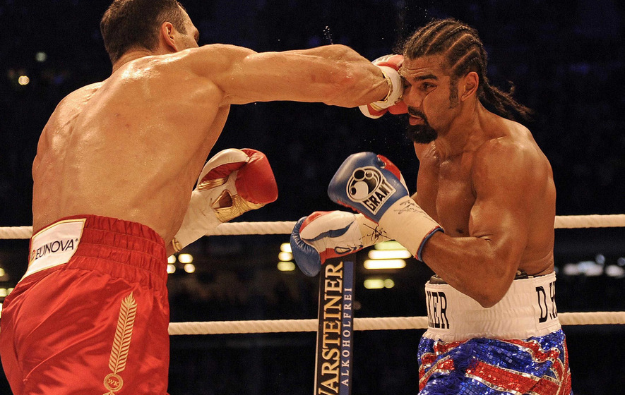 On This Day - July 2 201: Ukraine's Wladimir Klitschko defeats Britain's David Haye
