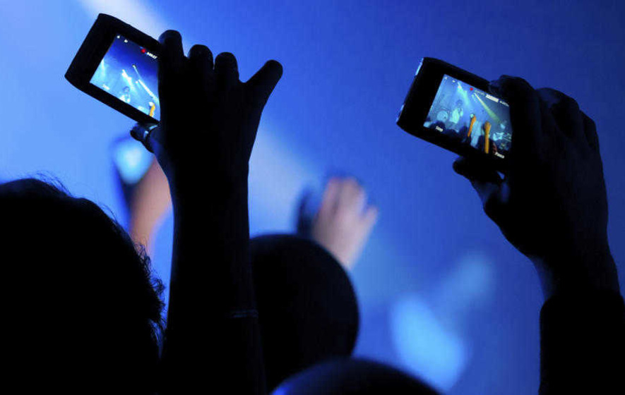 Apple patent could block iPhones being used to photograph and video concerts