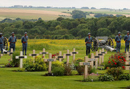 Somme centenary: Relatives gather at Ulster Memorial Tower