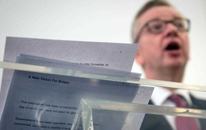 Michael Gove: I am the candidate for change