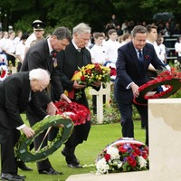Somme: President Higgins lays wreath at anniversary event