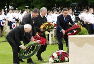 President lays wreath at Somme anniversary event