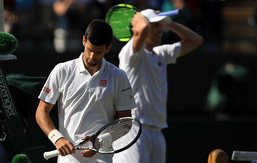 Sam Querrey dumps Novak Djokovic out of Wimbledon