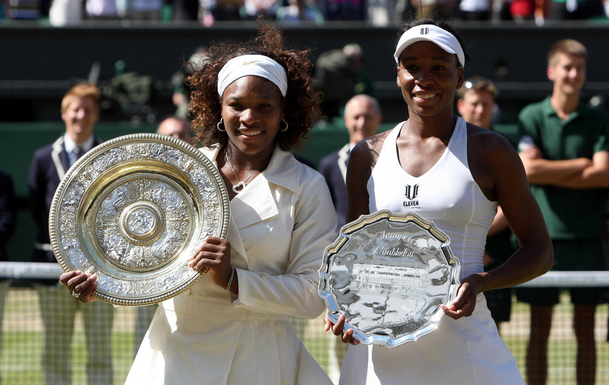 Image result for Venus and serena wimbledon final 2009