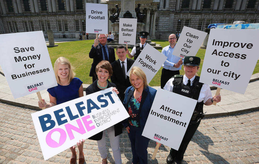 BID group launches five-year plan to secure £5m extra funding for Belfast