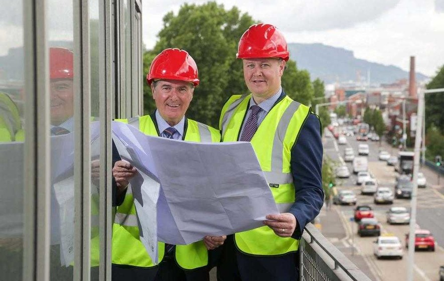Work starts to transform new £1.6m headquarters for Mount Charles