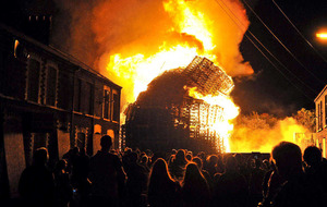 How much do Twelfth bonfires cost the Fire Service?