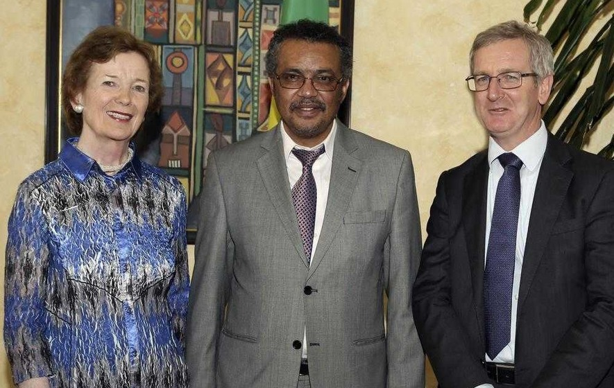 UN's Mary Robinson says Ethiopia in drought as events like Brexit distract world