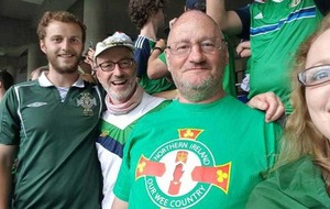 Northern Ireland football fan returns home after falling from window in France