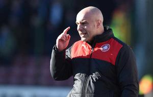 Cliftonville boss Gerard Lyttle focused on progression