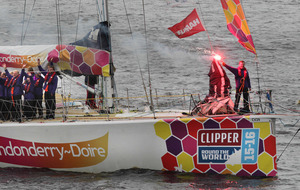 Derry clipper pipped at post as race returns to city